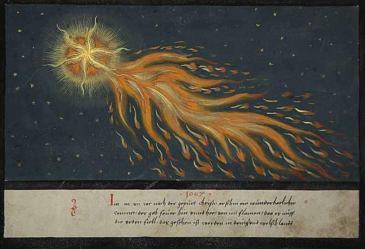 1552 Comet Illustration
