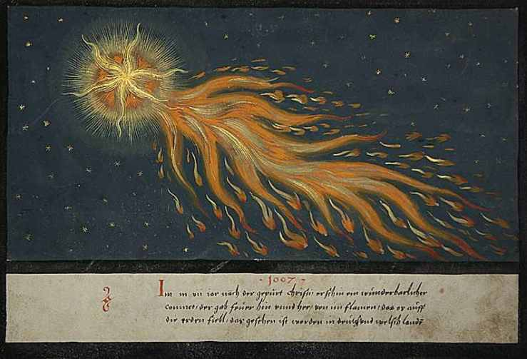 1552 Comet Illustration